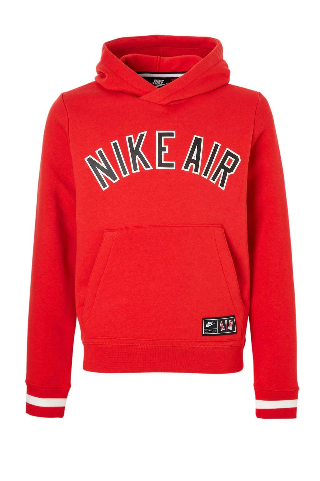 Nike   sweater met printopdruk rood, Rood