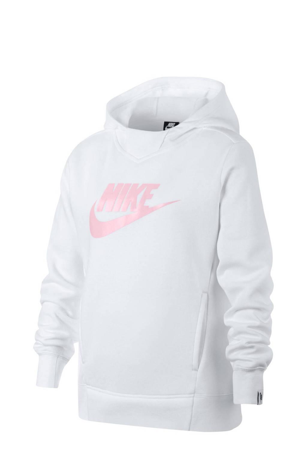 Nike sportsweater wit, Wit
