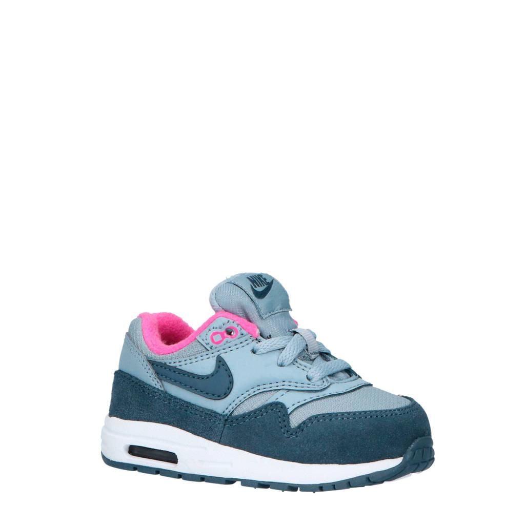 Nike  Air Max 1 sneakers, Grijs/roze