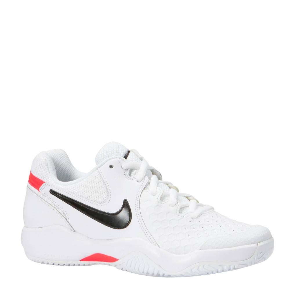 Nike   Air Zoom Resistance tennisschoenen, Wit/zwart