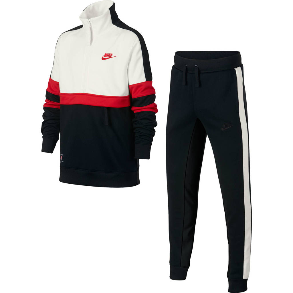 Nike   trainingspak, Zwart/wit/rood