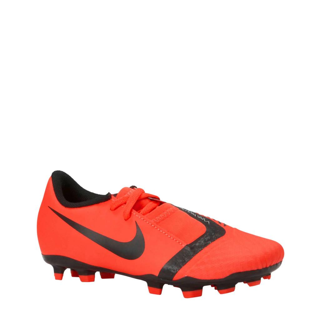 Nike   Phantom Venom Academy FG Jr voetbalschoenen, Oranje/zwart