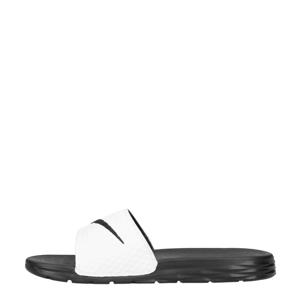 Wit Slippers zwart Benassi Solarsoft Nike n6RXdtSqSw