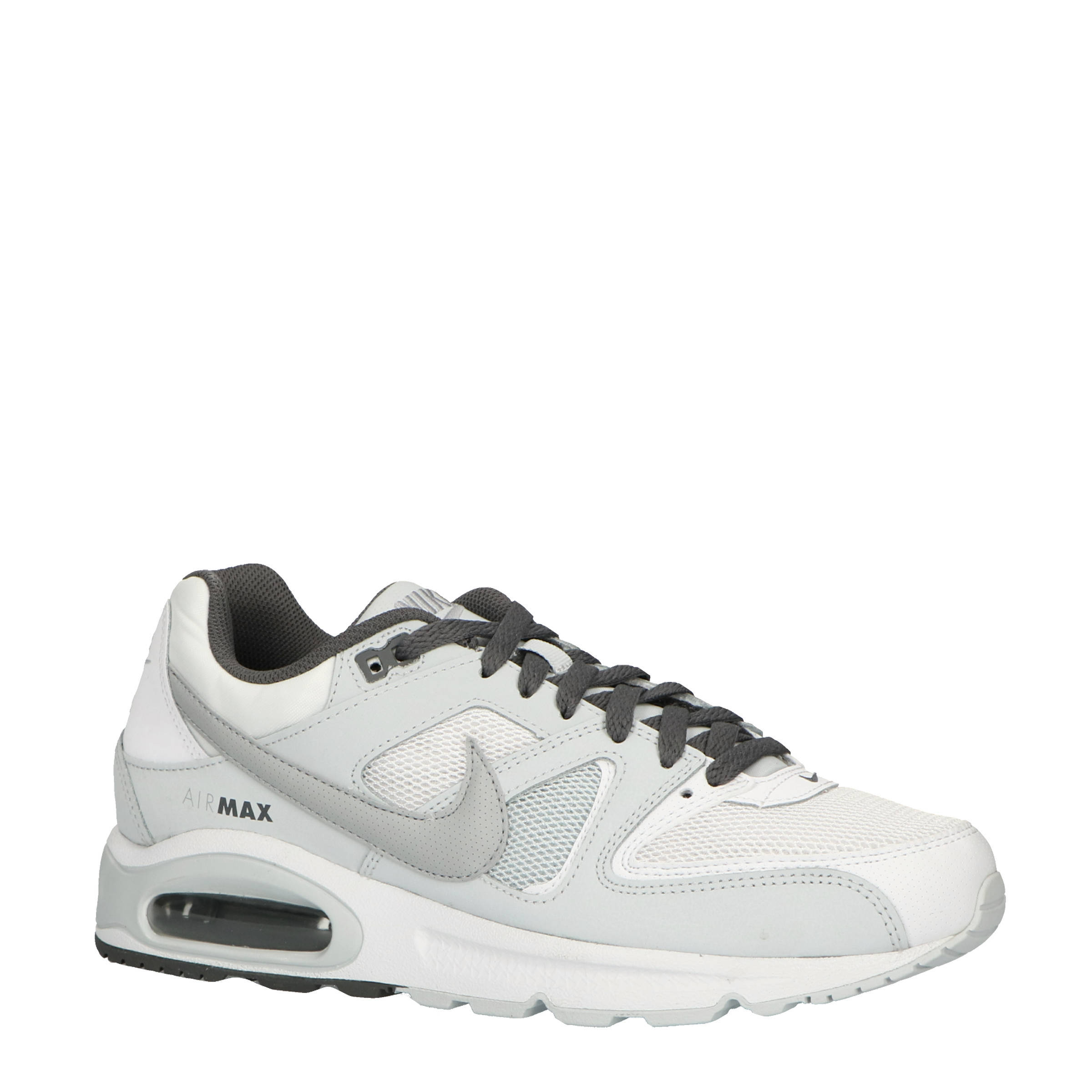 Nike air max command sneakers witgrijs