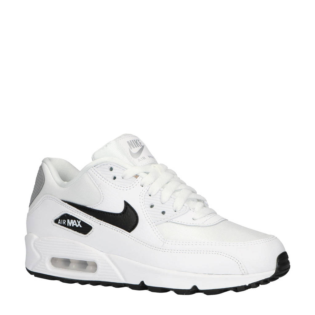 detailed look 6edcd aa0a8 Nike Air Max 90 sneakers wit, WitZwartZilver