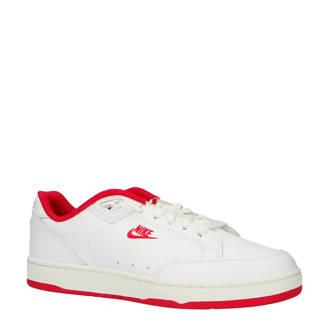 Grandstand II leren sneakers wit/rood