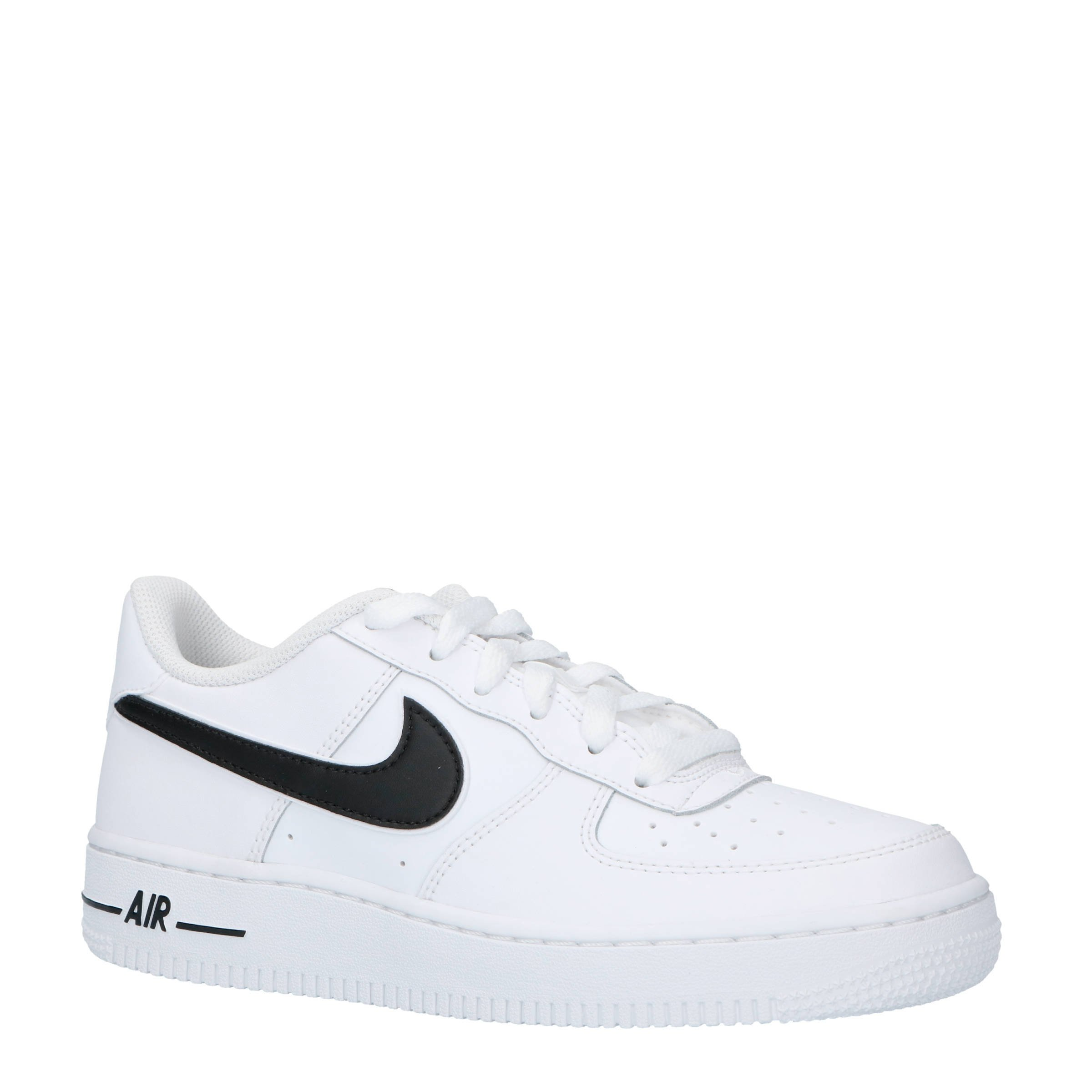 nike air force 1 leer zwart wit aliexpress 4ee1c d3386