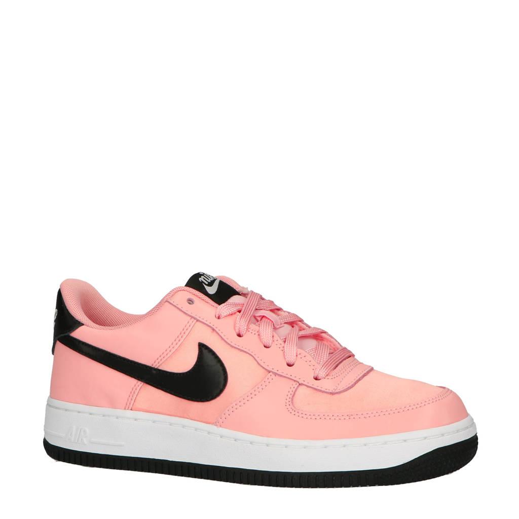 Nike  sneaker Air Force 1 Vday (GS), Roze/zwart