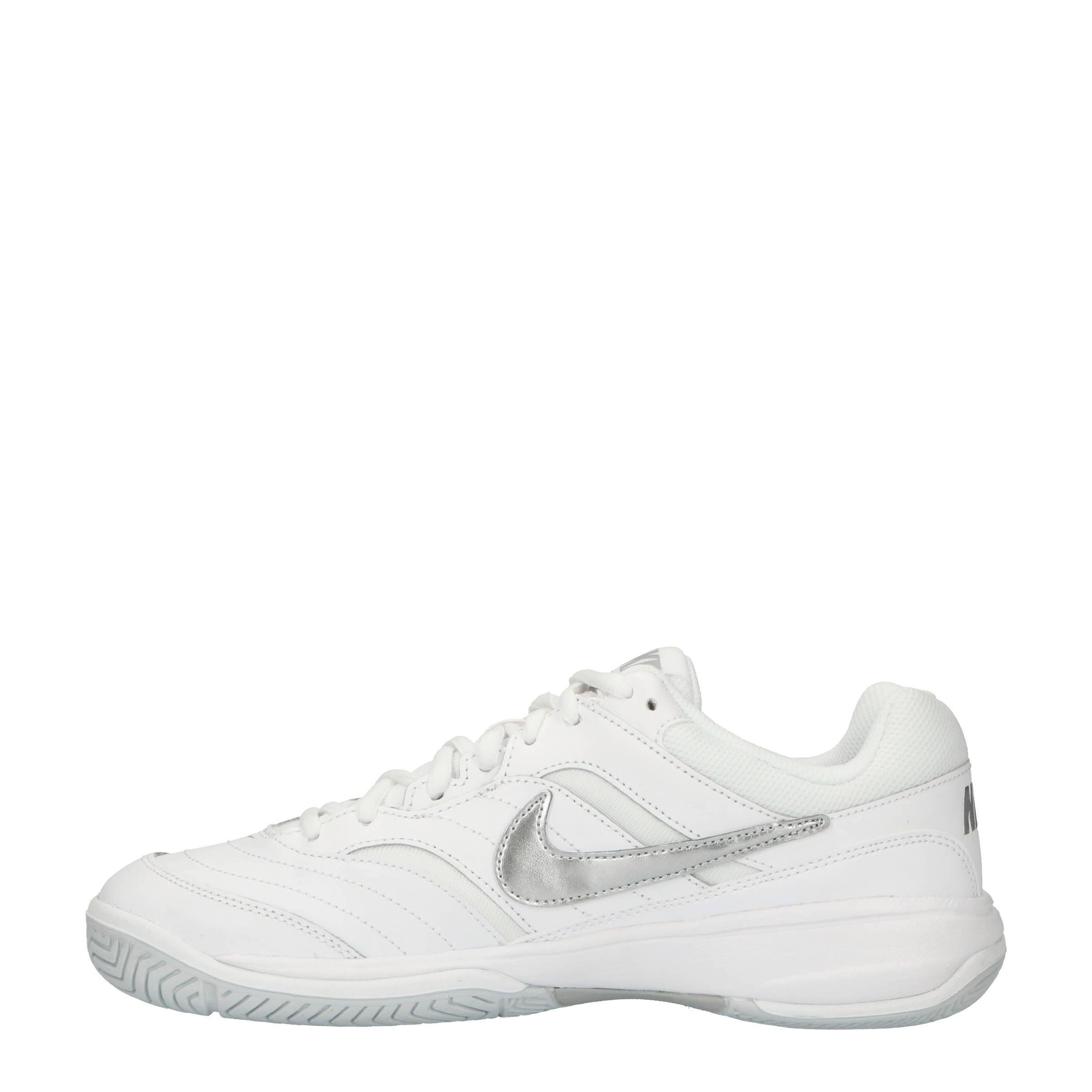 brand new c6452 2abd0 Nike Court Lite tennisschoenen witzilver  wehkamp