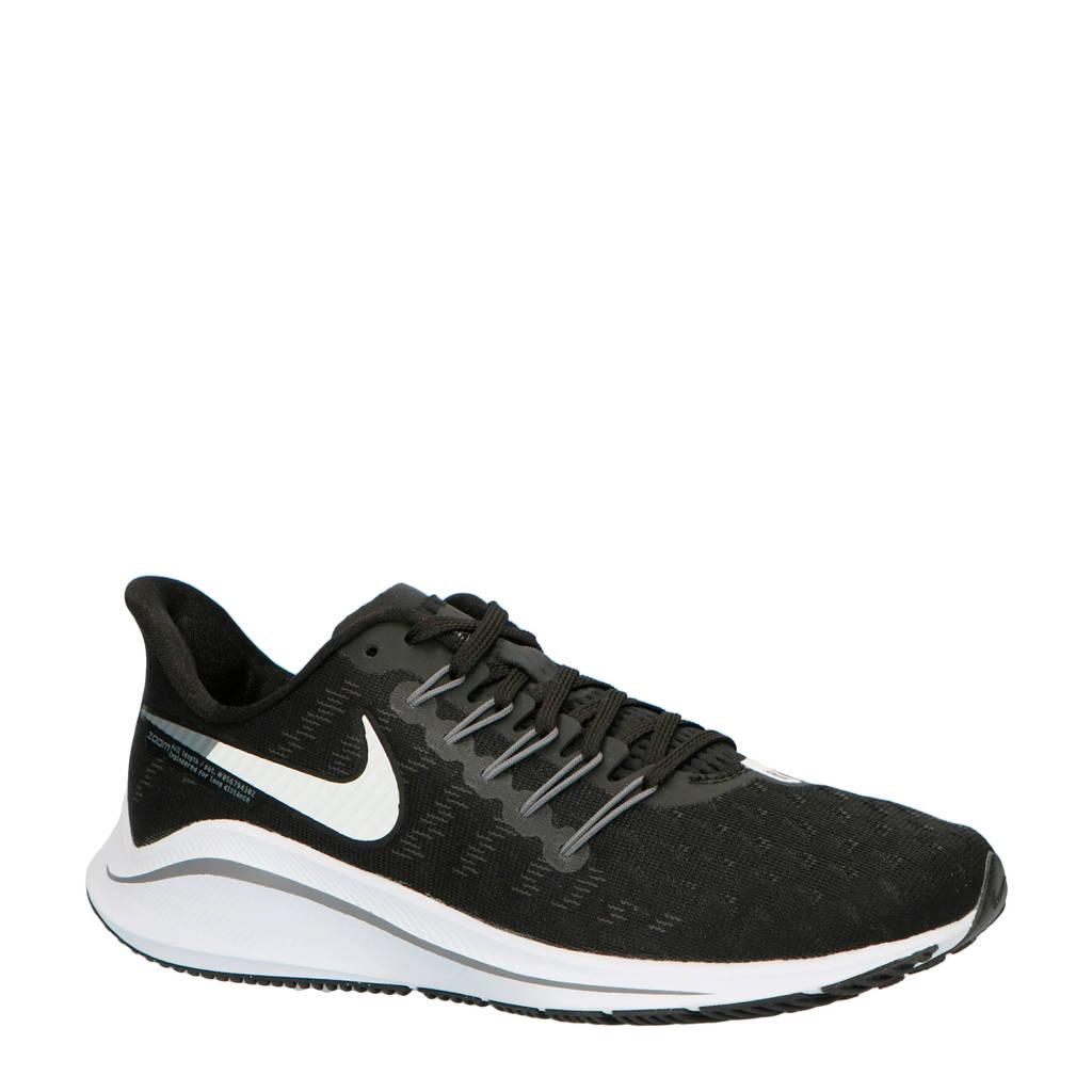 Nike   Air Zoom Vomero 14 hardloopschoenen zwart, Zwart