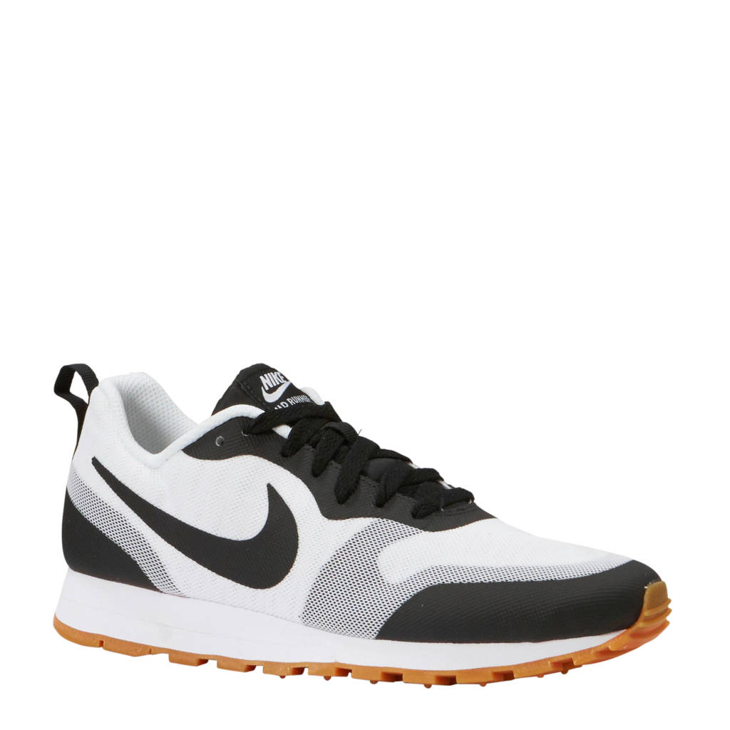 Nike MD Runner 2 sneakers wit/zwart, Wit/zwart