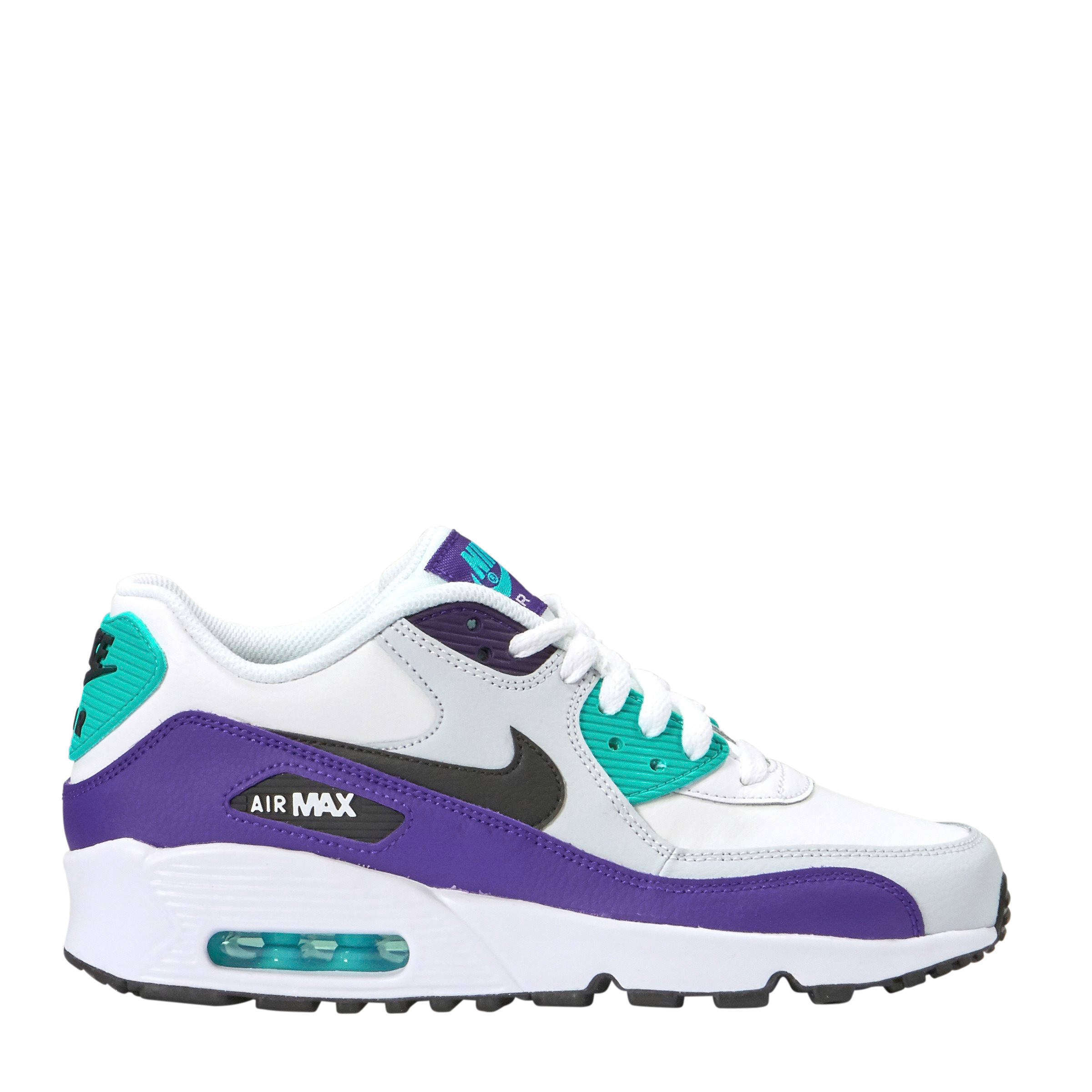 Air Max 90 Ltr sneakers witpaarszwart