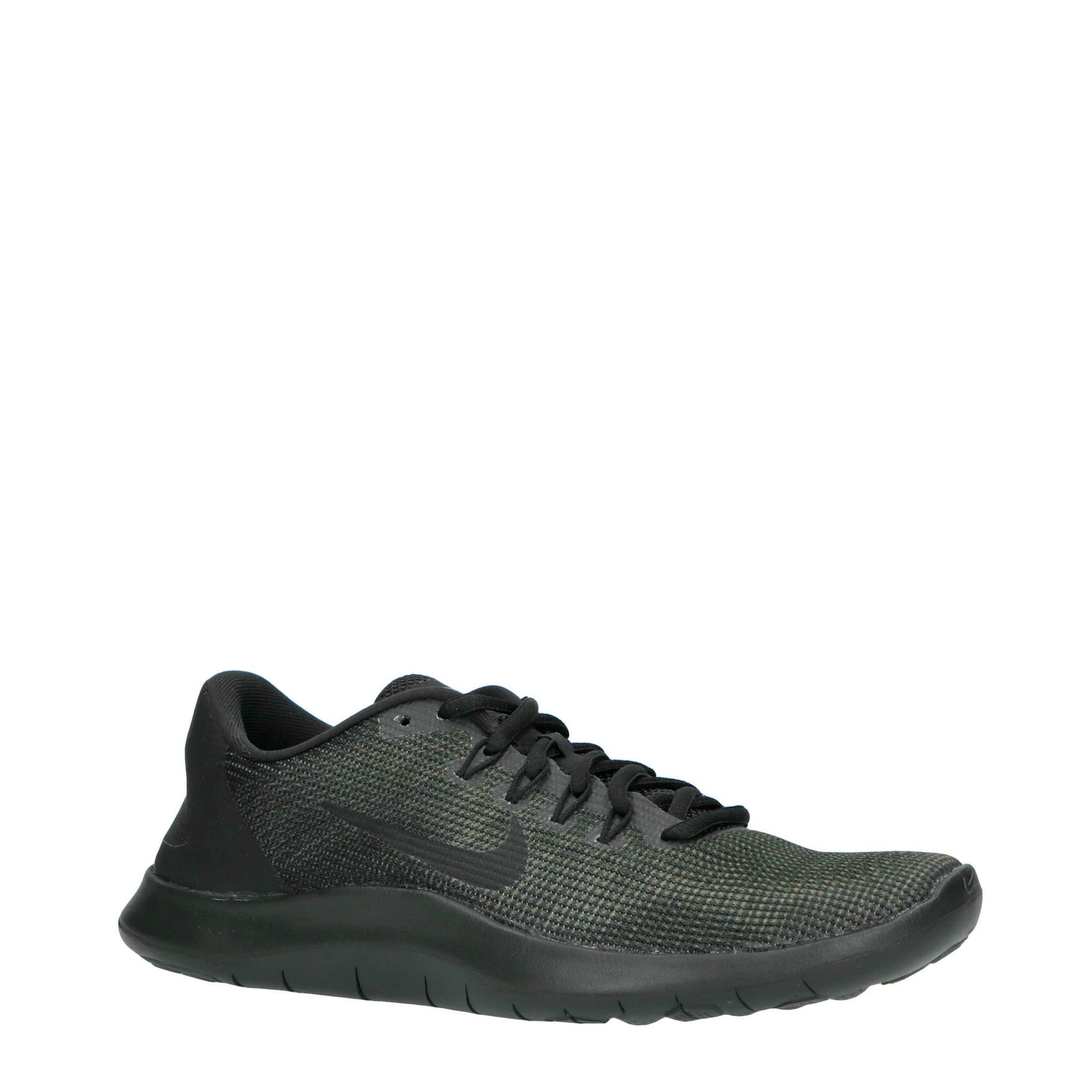 separation shoes 40952 4a2c8 Nike Flex 2018 RN hardloopschoenen zwartgrijs  wehkamp