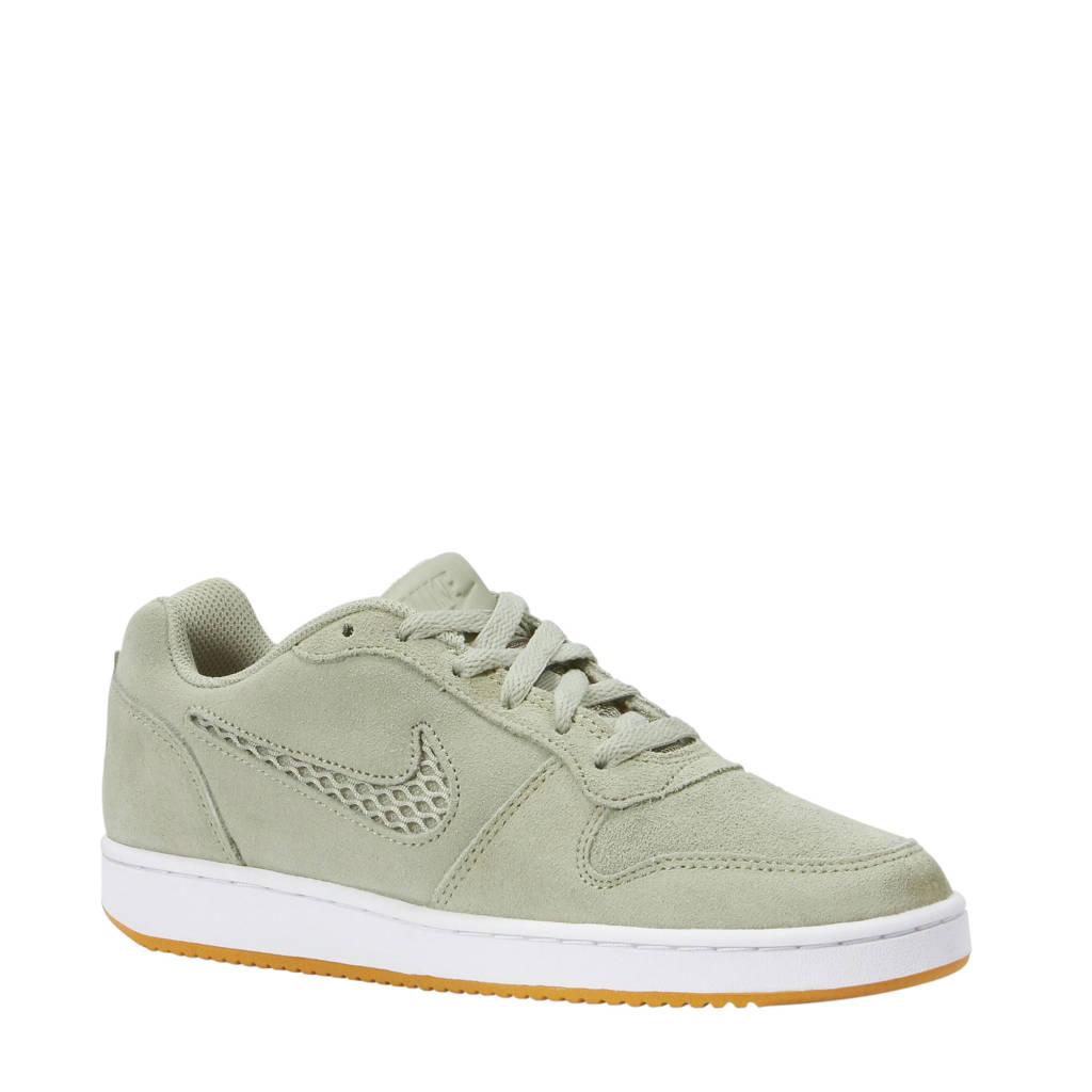 Nike Ebernon low prem sneakers lichtkaki, Lichtkaki