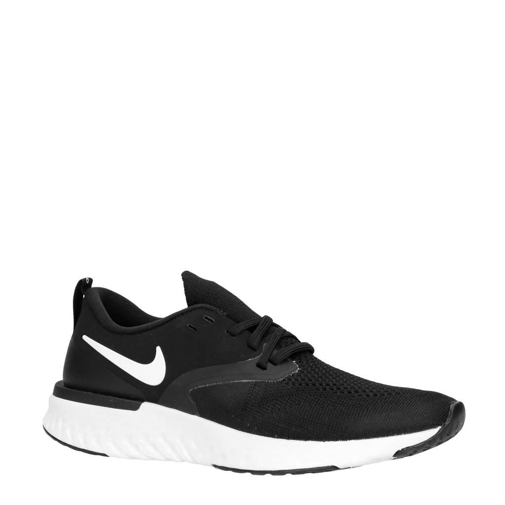 Nike W Odyssey React hardloopschoenen paars, Zwart/wit