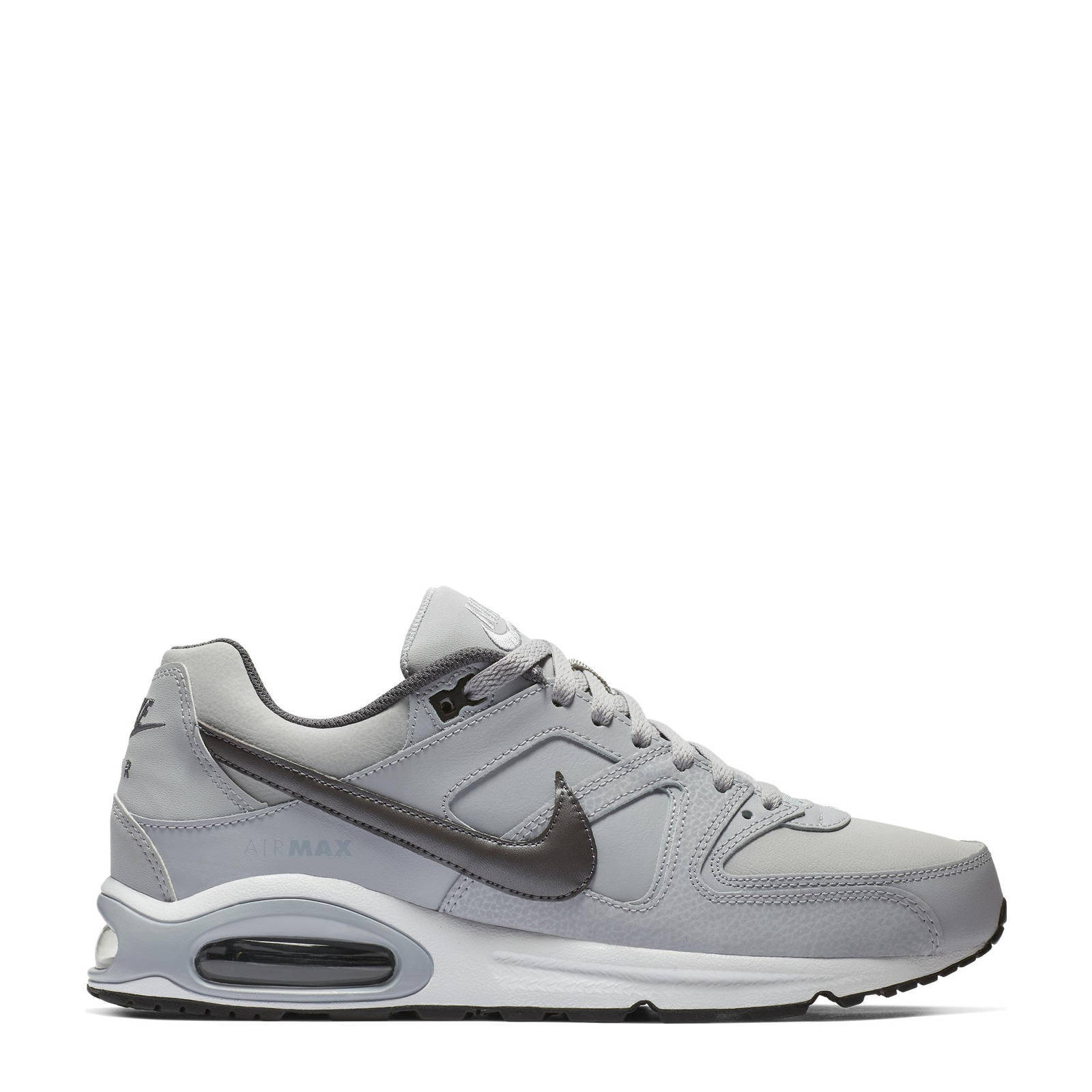 Nike Air Max Command Leather sneakers grijs | wehkamp