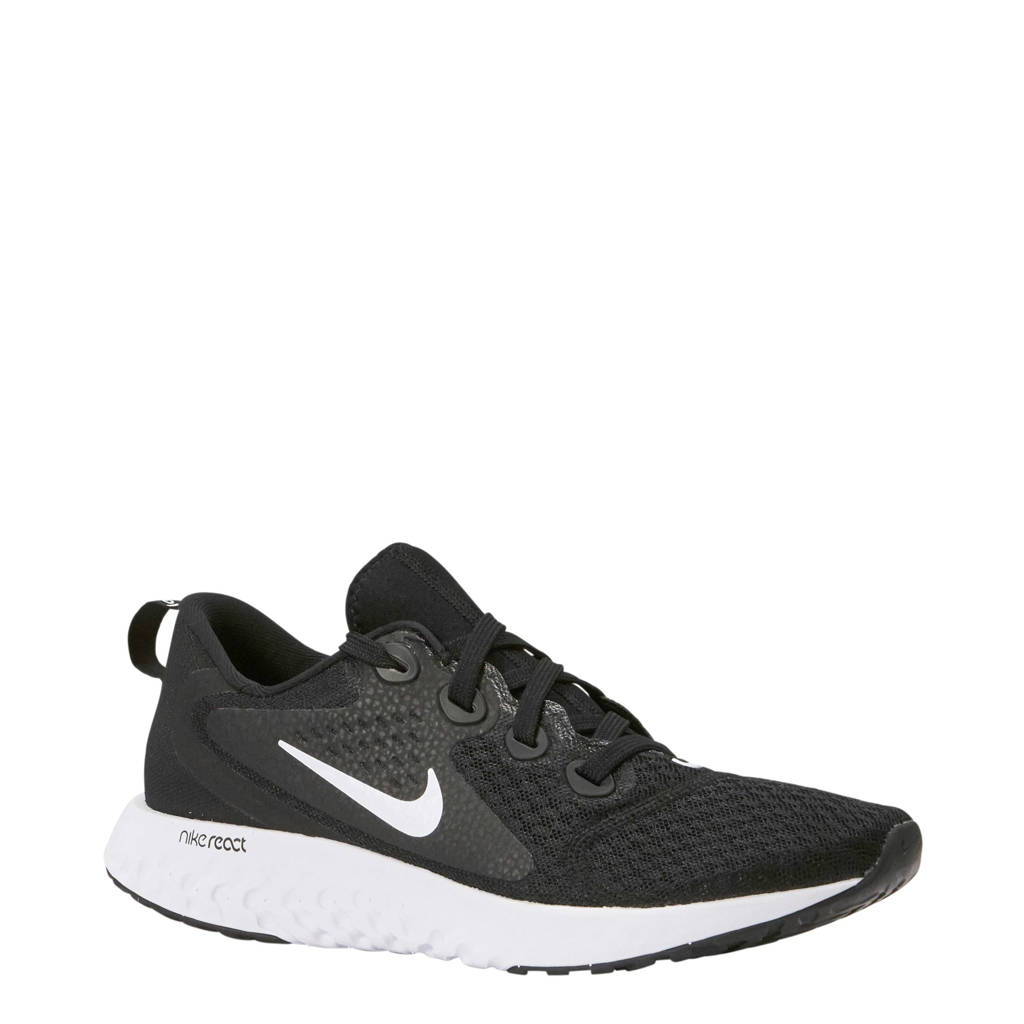Nike Legend React hardloopschoenen, Zwart/wit