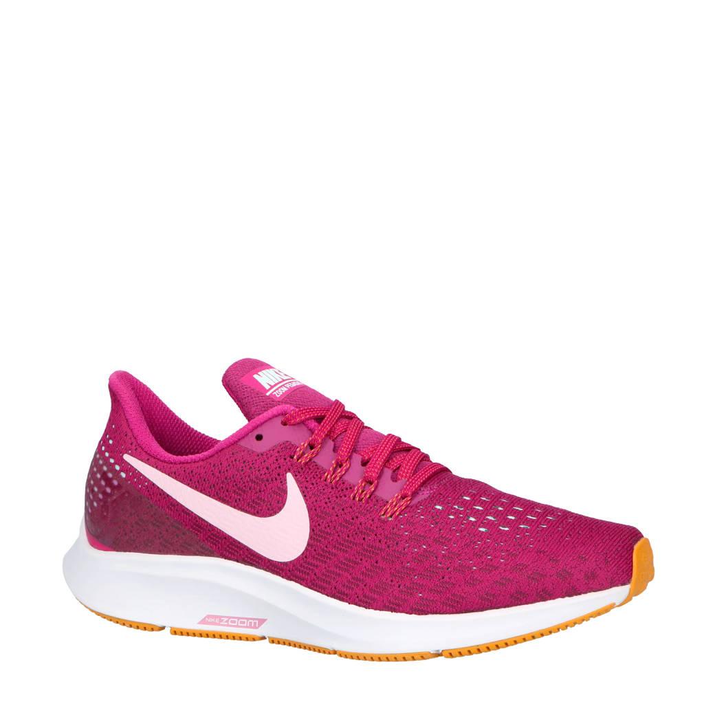 Nike    hardloopschoenen Air Zoom Pegasus 35, Fuchsia/zwart
