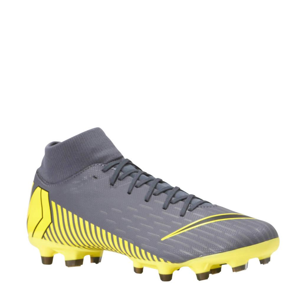 Nike Mercurial Superfly 6 Academy FG/MG voetbalschoenen, Grijs/geel