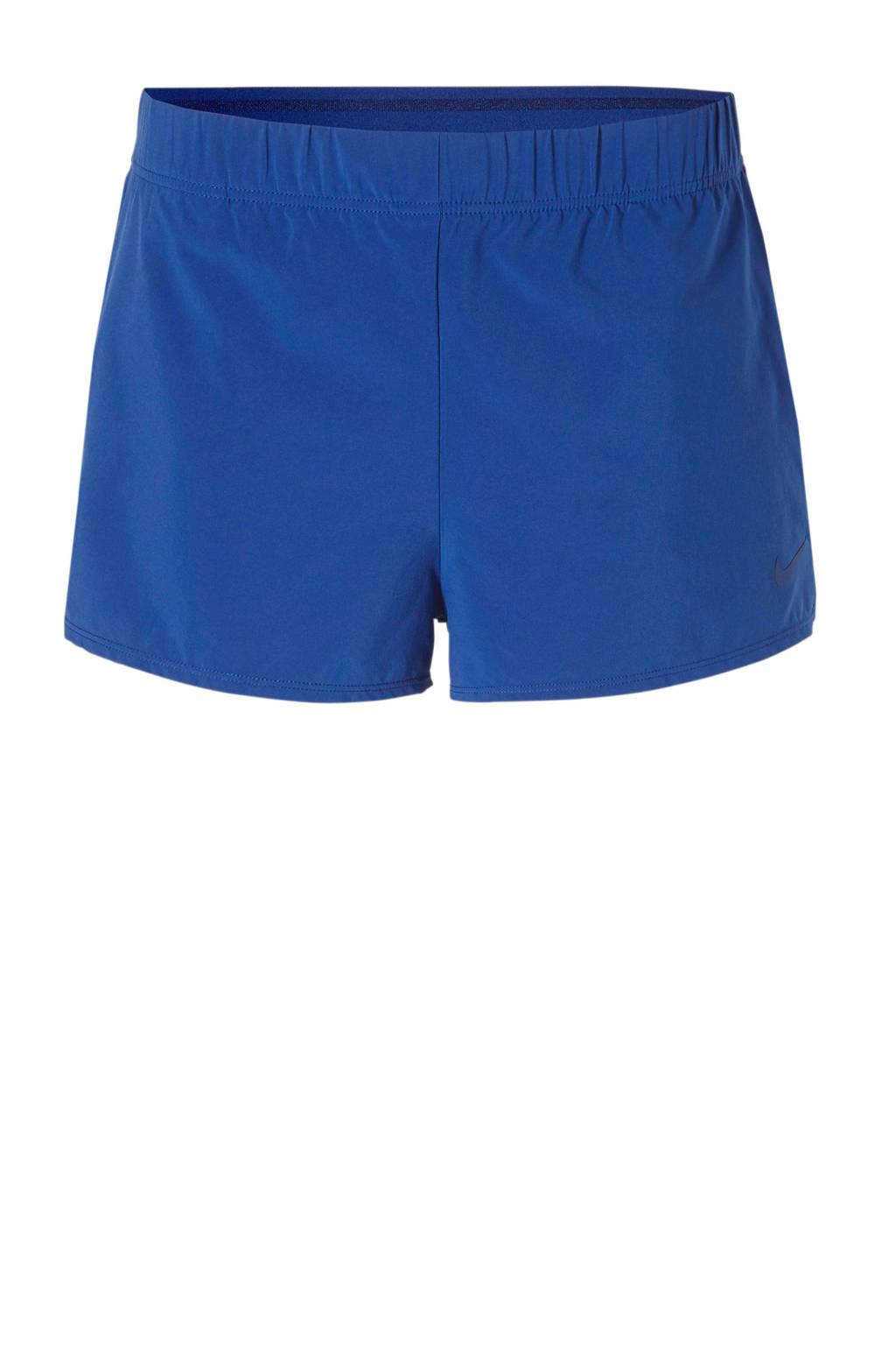 Nike sportshort blauw, Blauw