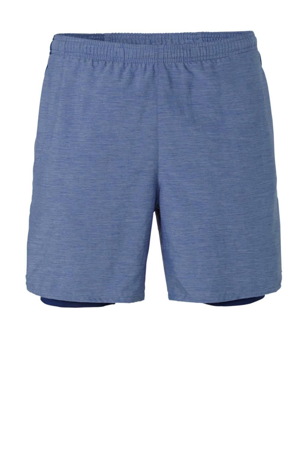 Nike   hardloopshort blauw, Blauw