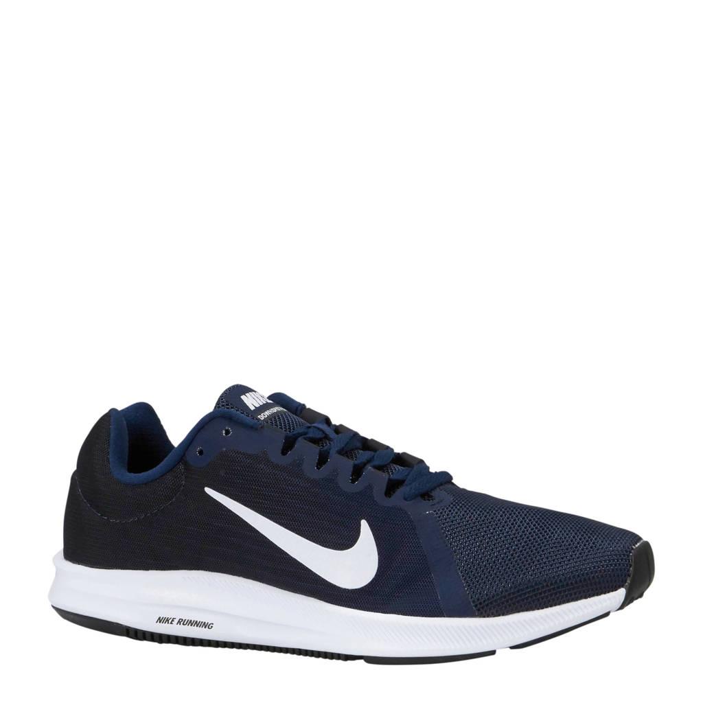 Nike DownShifter 8 hardloopschoenen, Zwart