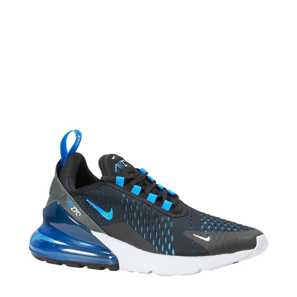 Nike  Air Max 270 sneakers zwart/blauw, Zwart/blauw