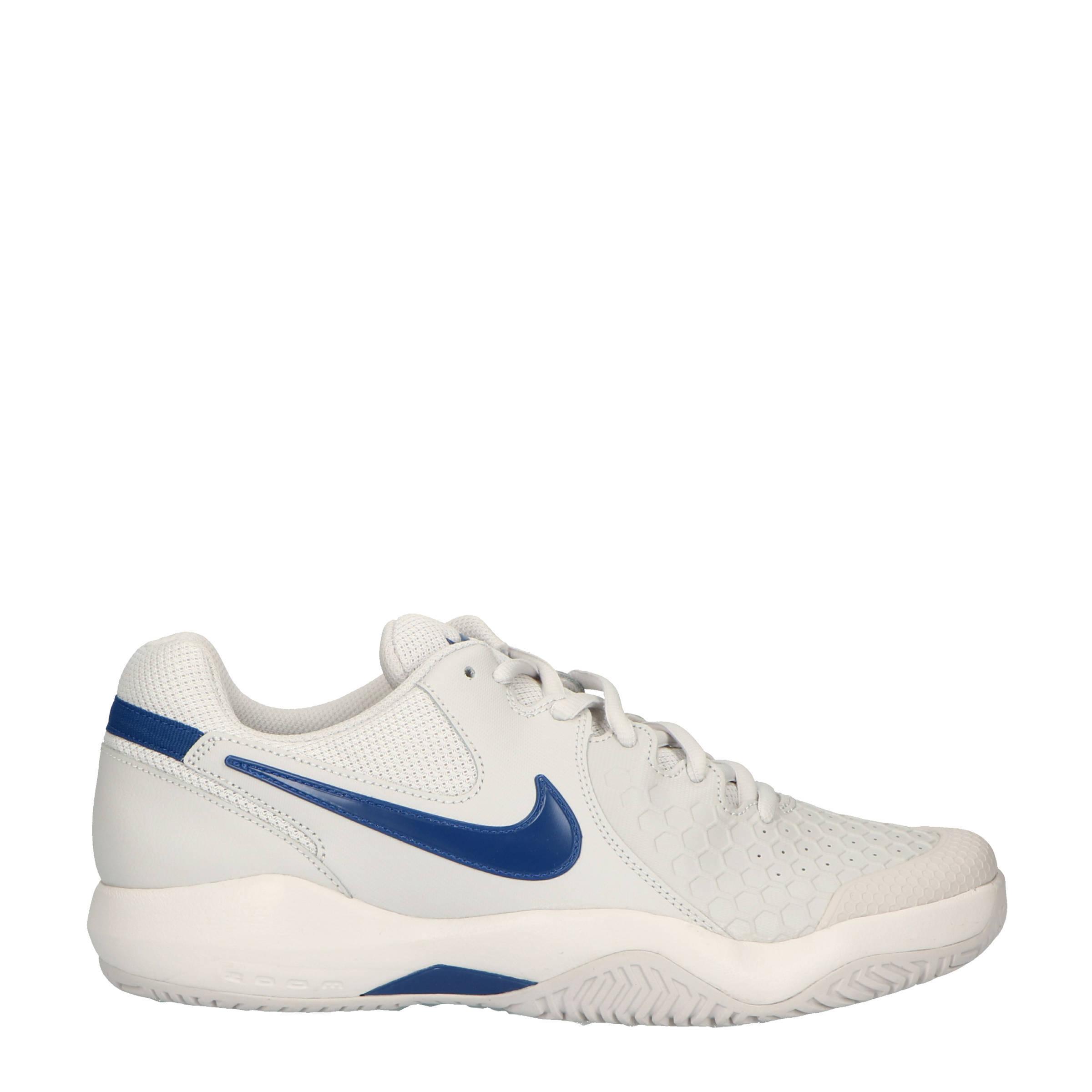 Air Zoom Resistance tennisschoenen lichtgrijsblauw