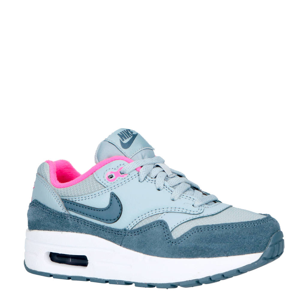 Nike  sneakers Air Max 1, Lichtblauw/petrol/roze
