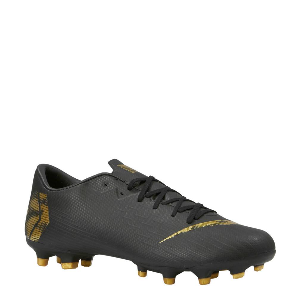 Nike   Mercurial Vapor 12 Academy MG voetbalschoenen, Zwart/goud