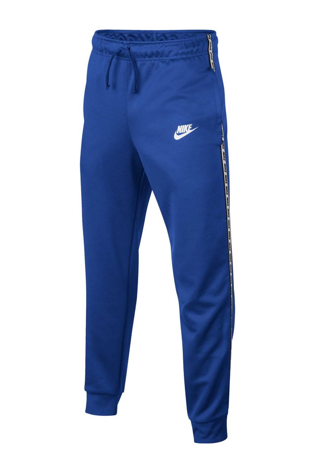 Nike   sportbroek met tekst blauw, Blauw