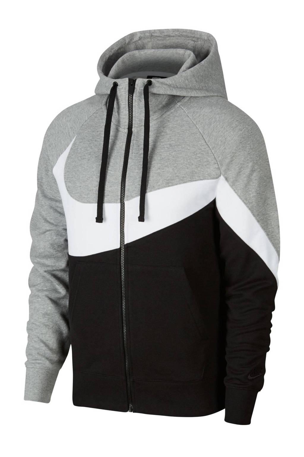 Nike   vest, Zwart/wit/grijs