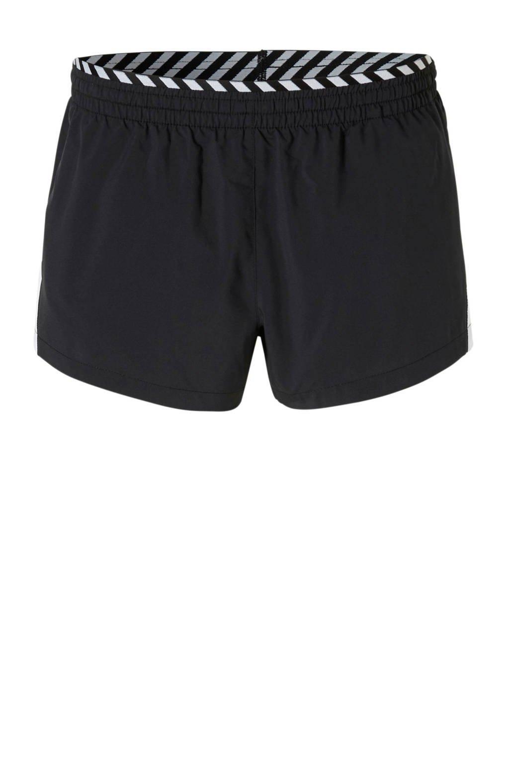 Nike sportshort zwart/wit, Zwart/wit