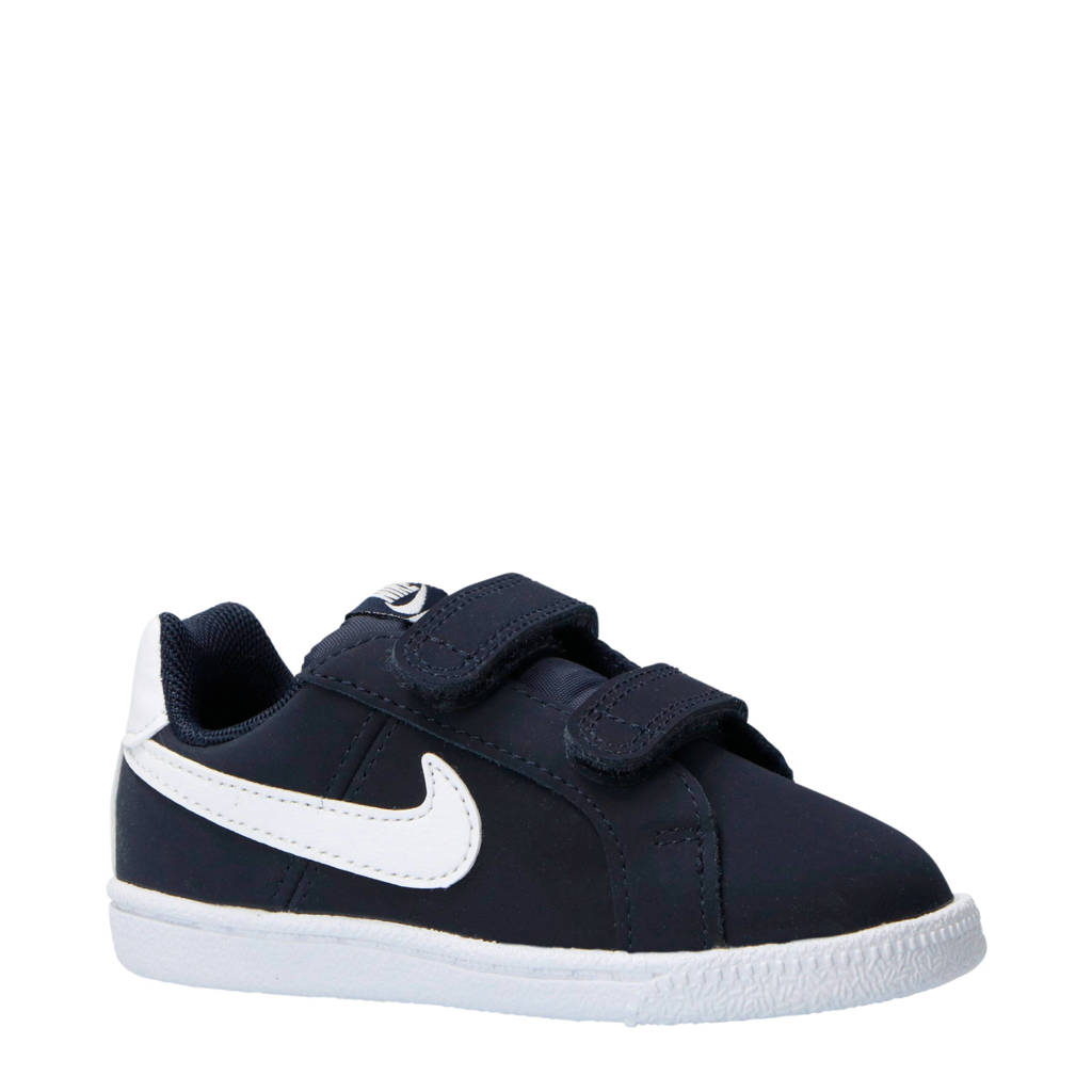 Nike   Court Royale (TDV) sneakers donkerblauw/wit, Donkerblauw/wit
