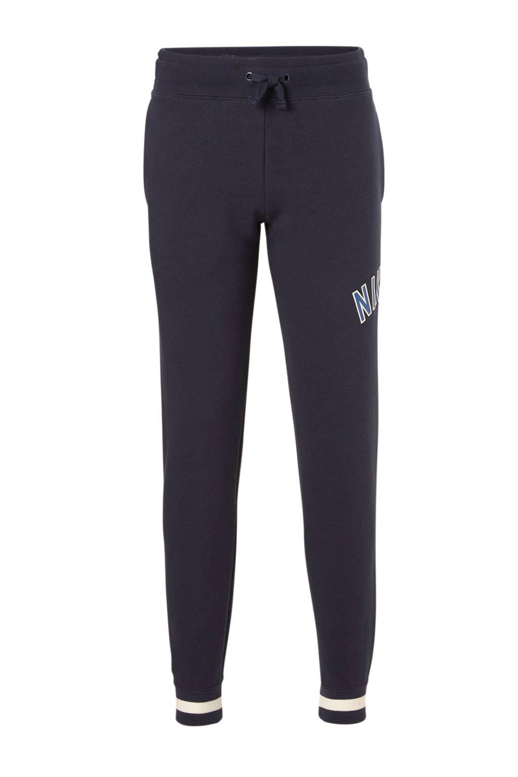 Nike   joggingbroek donkerblauw, Donkerblauw