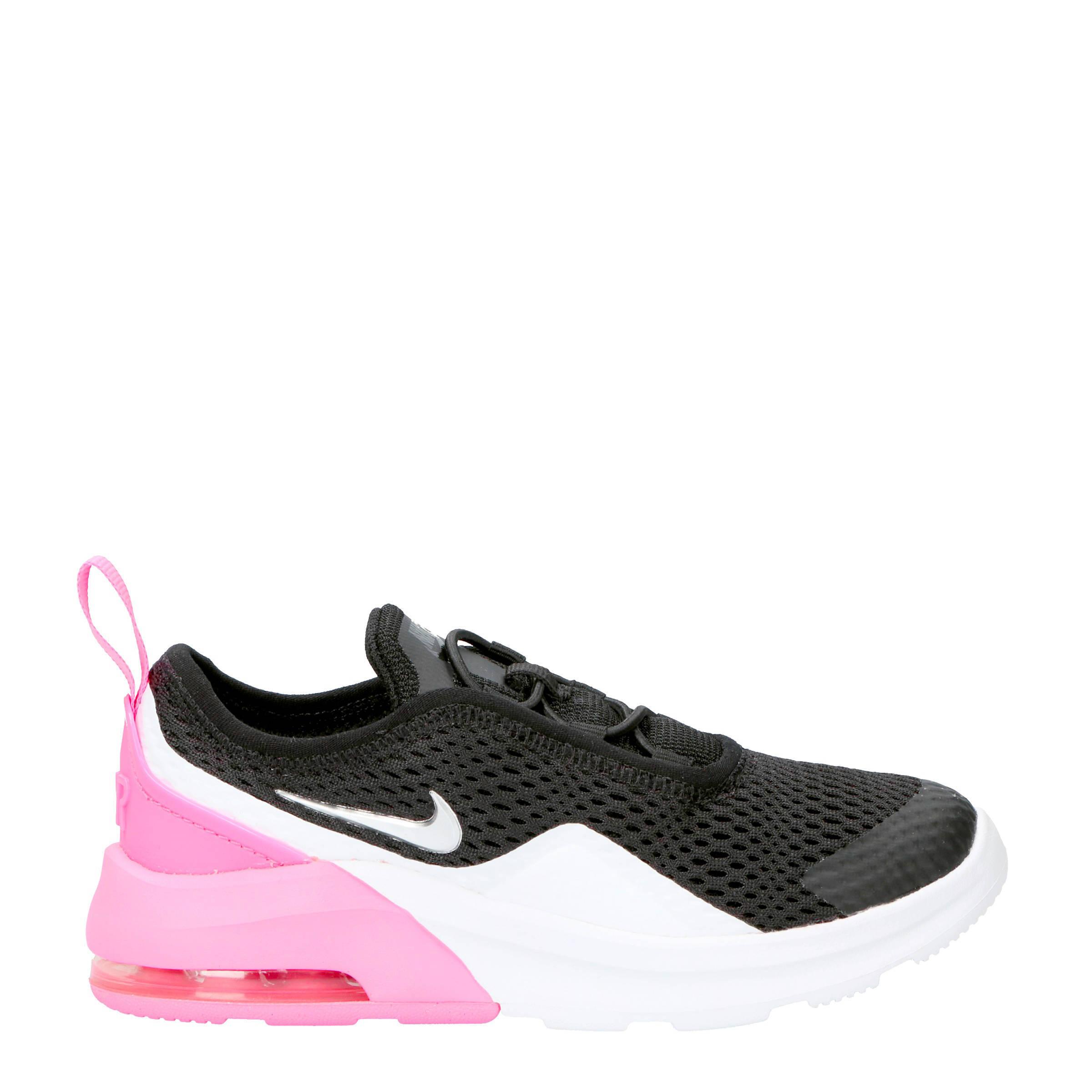 9e2ed075a7a Nike Air Max Motion 2 sneakers zwart/grijs/roze | wehkamp