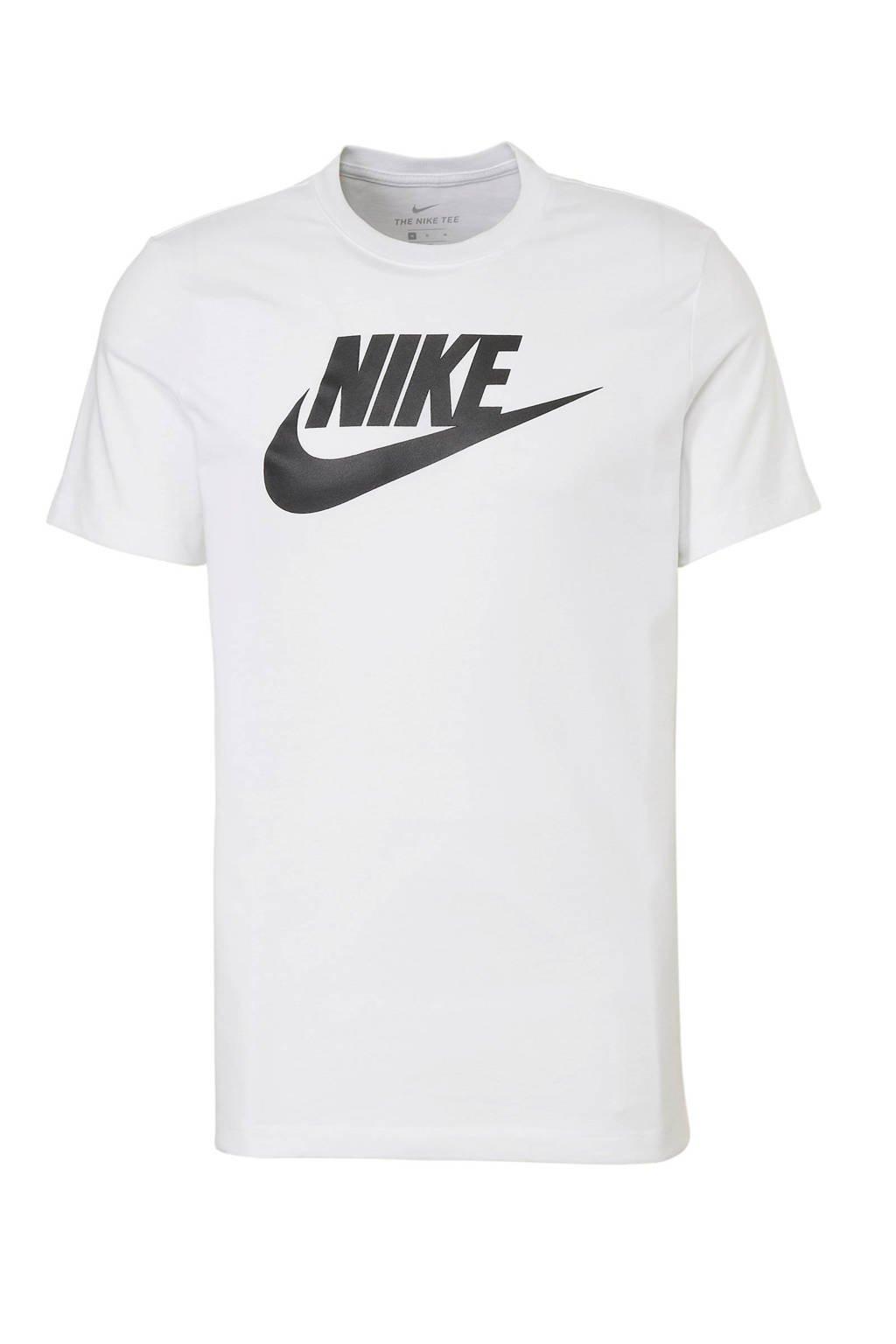 Nike sport T-shirt met printopdruk wit, Wit