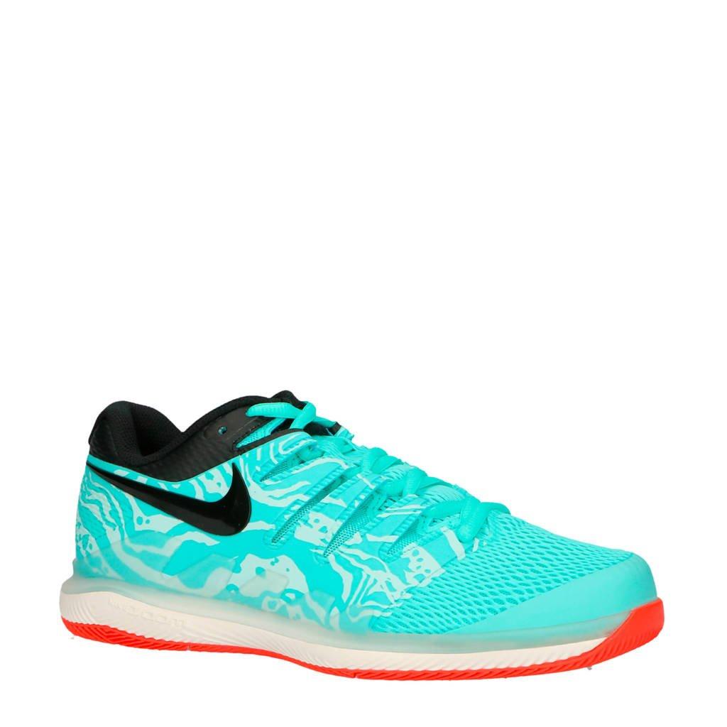 Nike   Air Zoom Vapor X HC tennisschoenen, Aqua/wit