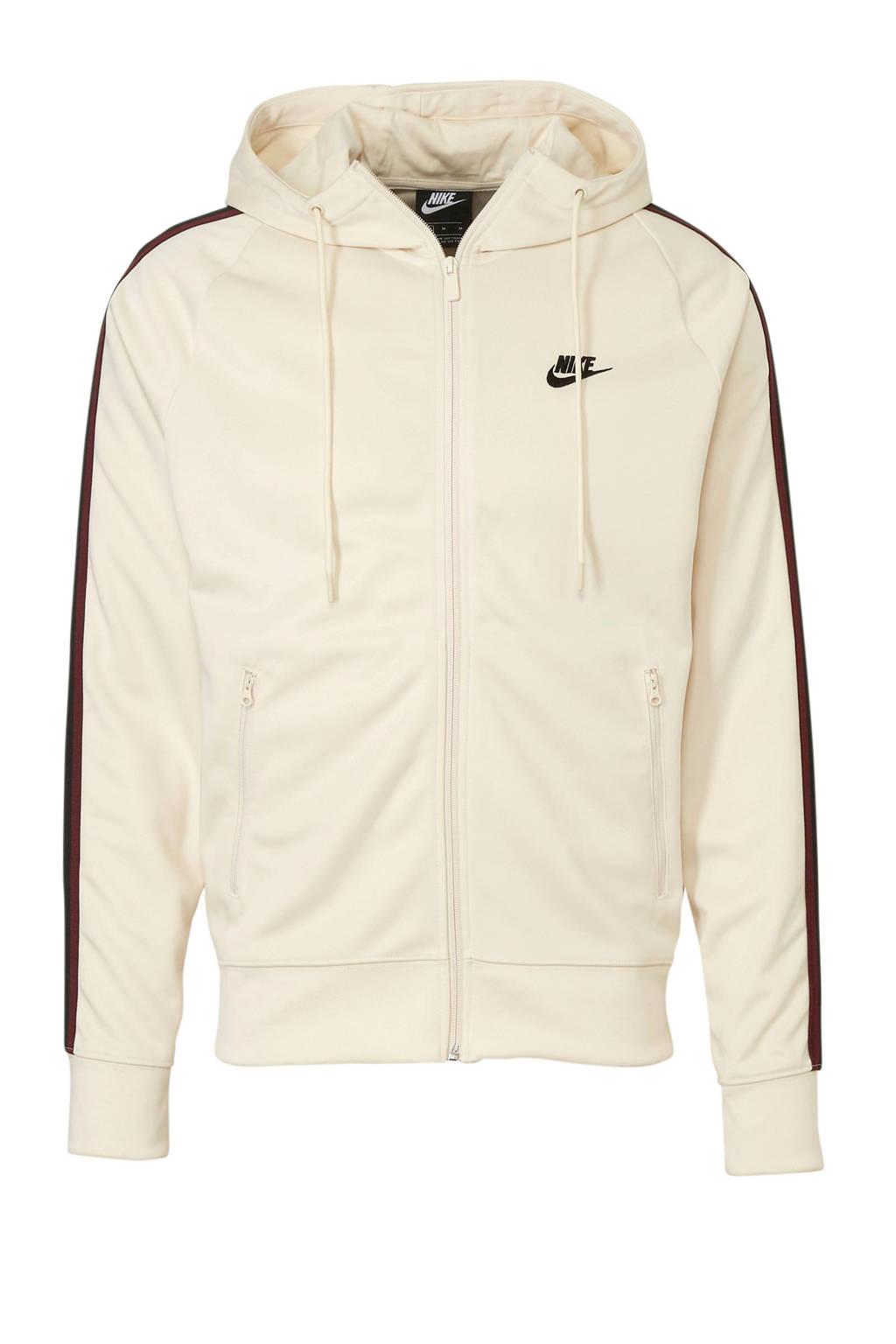 Nike   vest, Ecru/zwart/rood