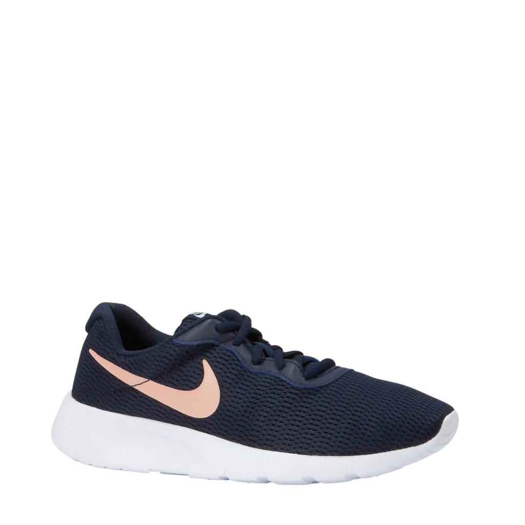 Nike  Tanjun sneakers donkerblauw, Donkerblauw/roze