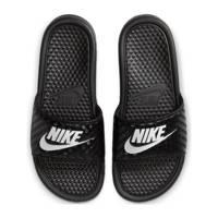 Nike   slippers Benassi JDI zwart, Zwart/wit