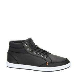 Hub   leren sneakers zwart