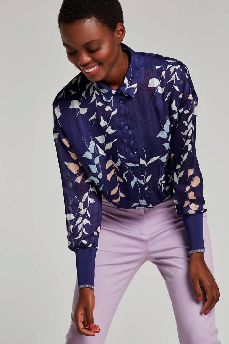 met Inwear bladeren blouse met blauw bladeren Inwear blouse blauw Inwear blouse dBF5qdxwE