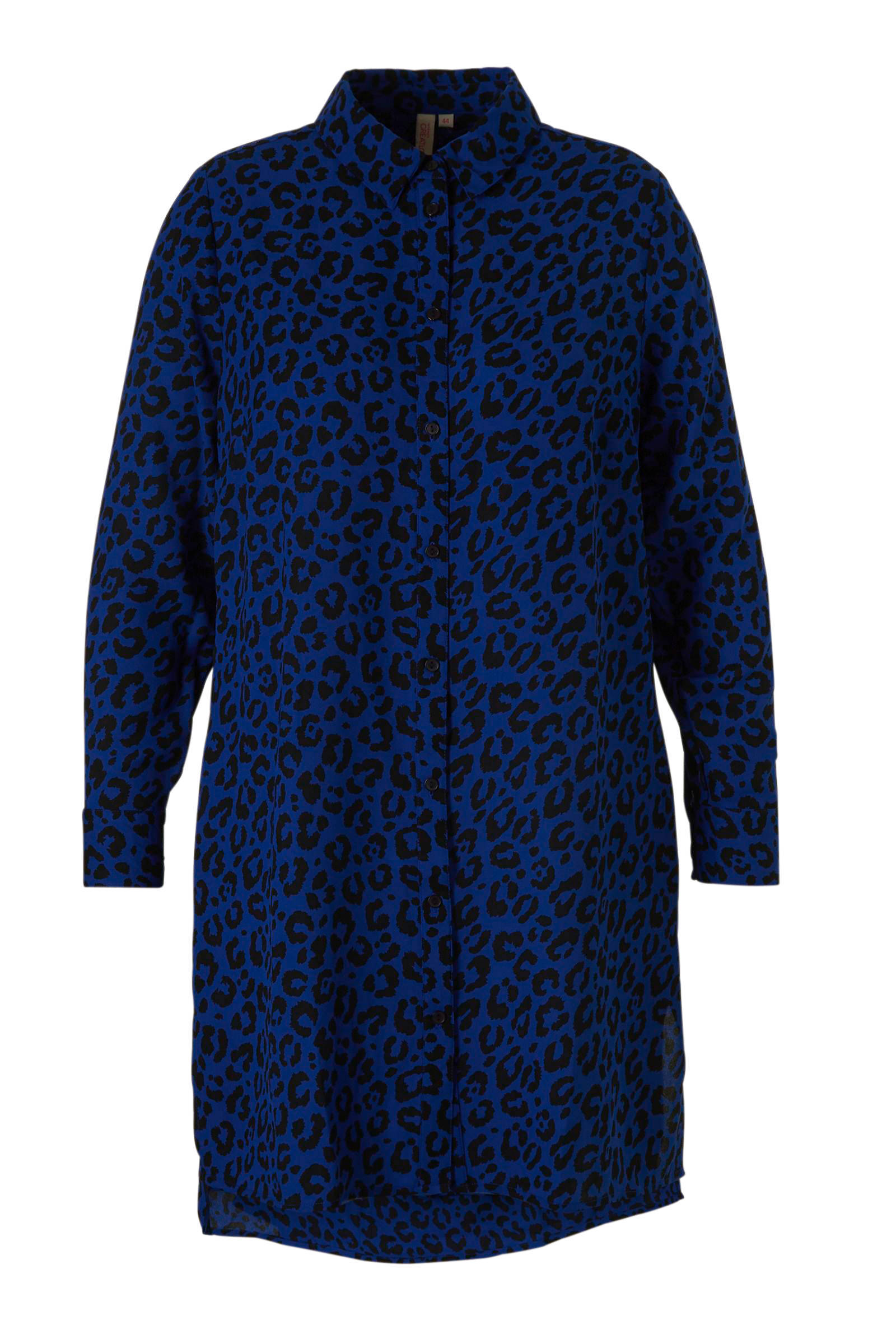 whkmp's great looks lange blouse met panterprint (dames)