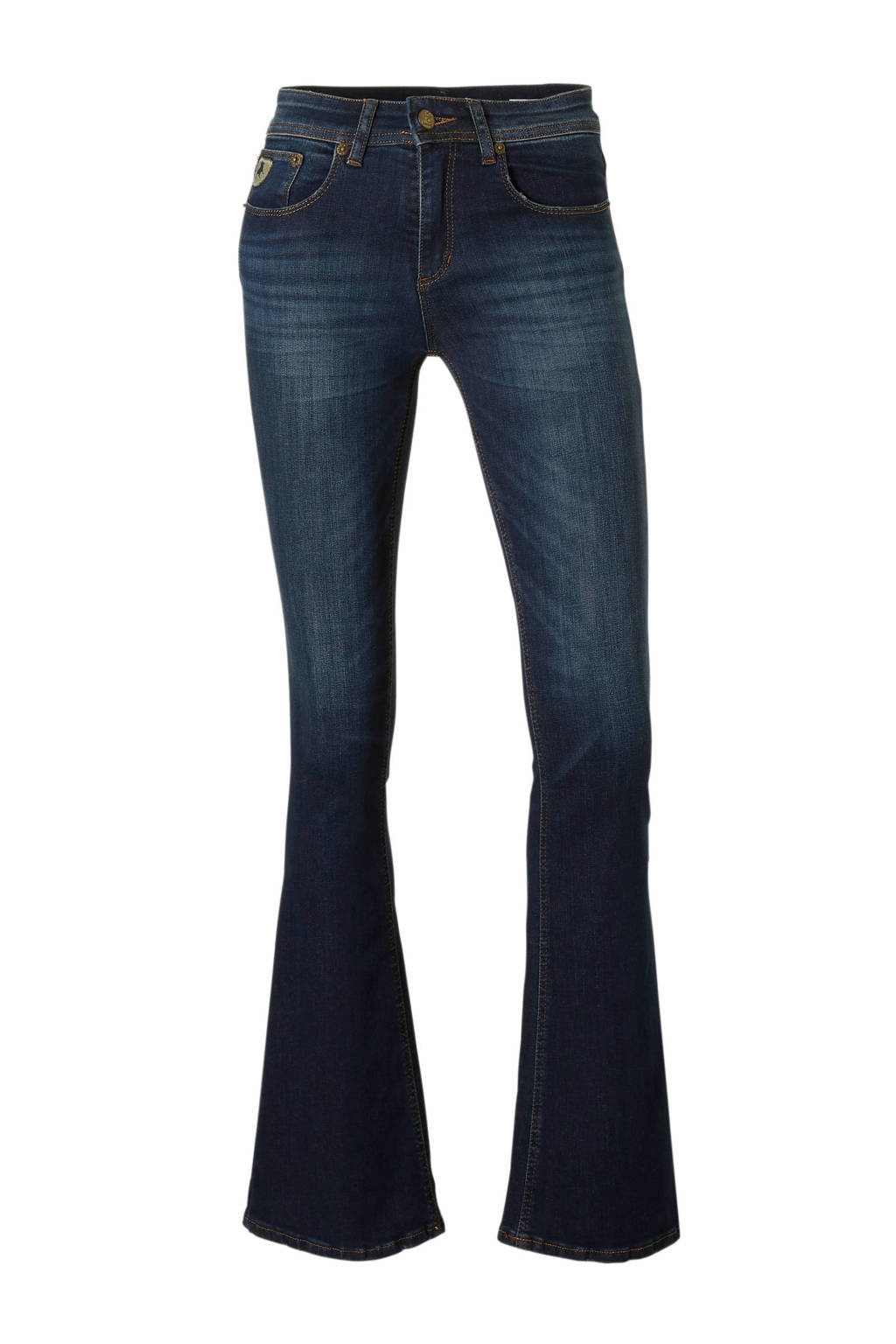 Lois high rise flared fit jeans, Blauw