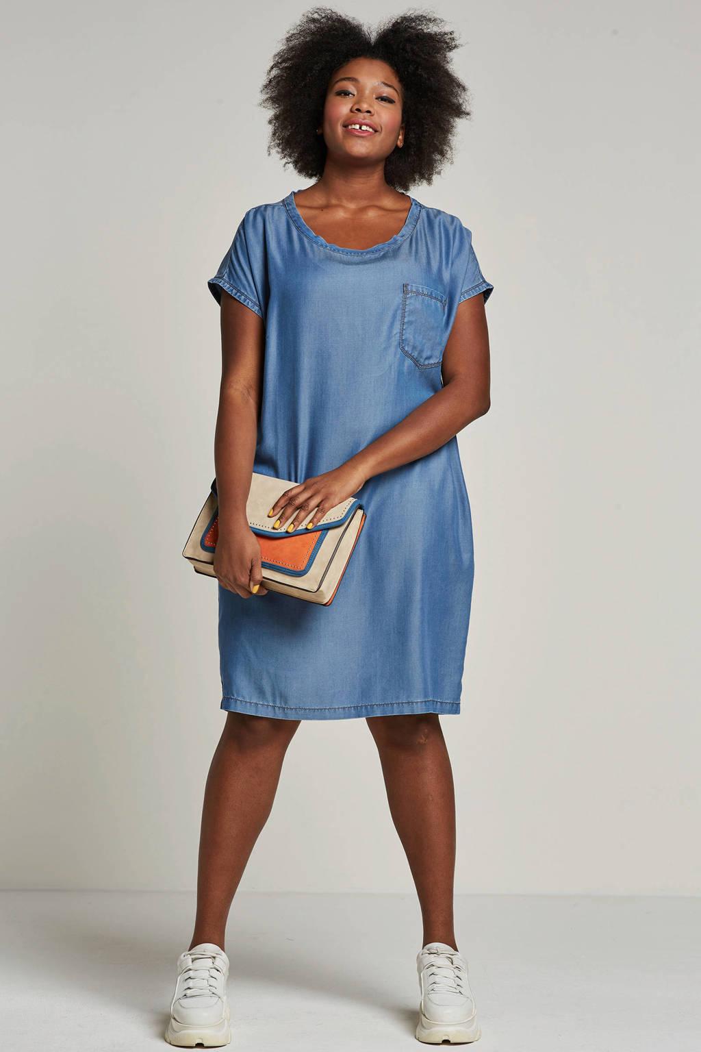 whkmp's great looks tencel jurk, Blauw