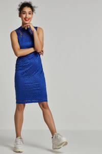 whkmp's own gevoerde kanten jurk, Kobaltblauw