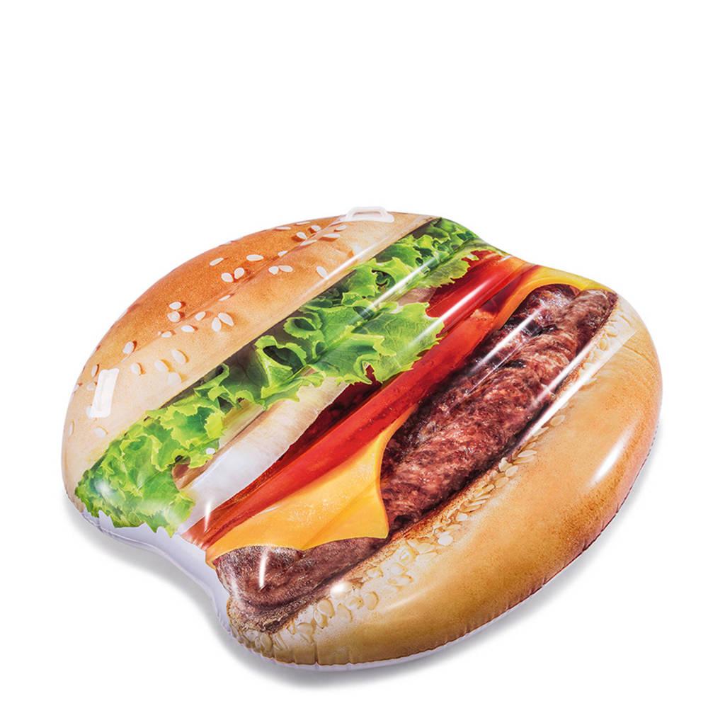 Intex luchtbed hamburger