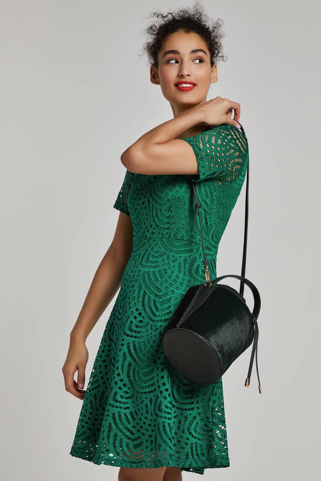 whkmp's own gevoerde kanten jurk, Felgroen