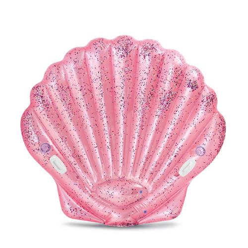 Intex luchtbed roze zeeschelp kopen